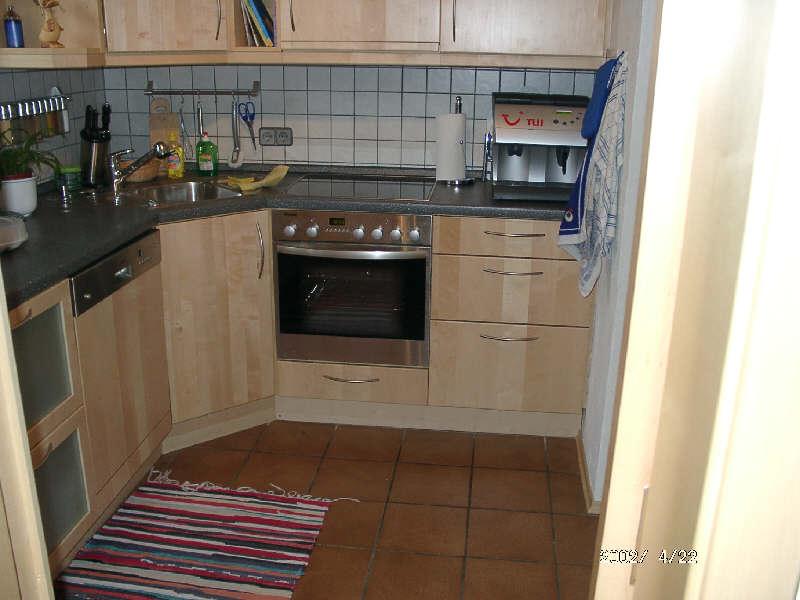 Ahorn küche aus europ